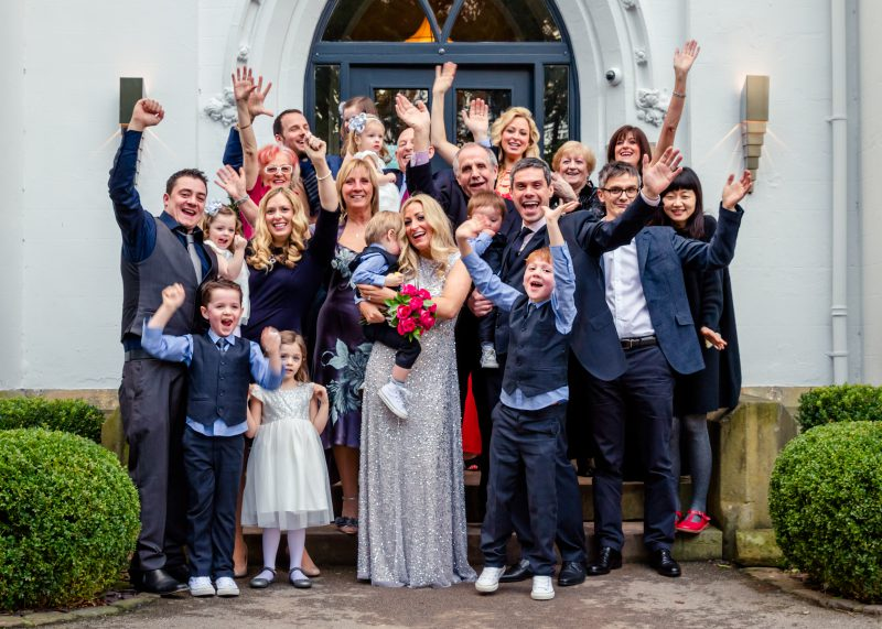 wedding group didsbury house hotel
