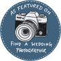 featured in find a wedding photographer
