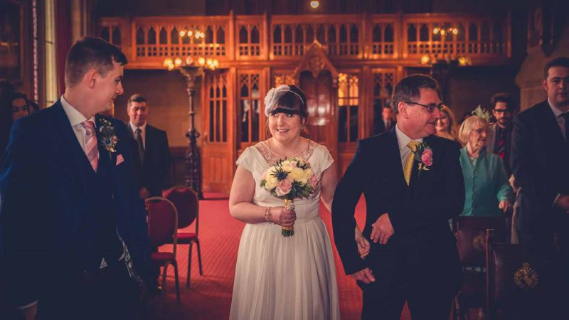 ceremony Manchester town hall wedding