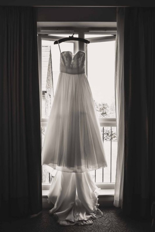 wedding gown Worley Marriott