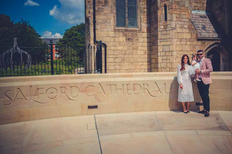Salford Cathedral Christening Photography