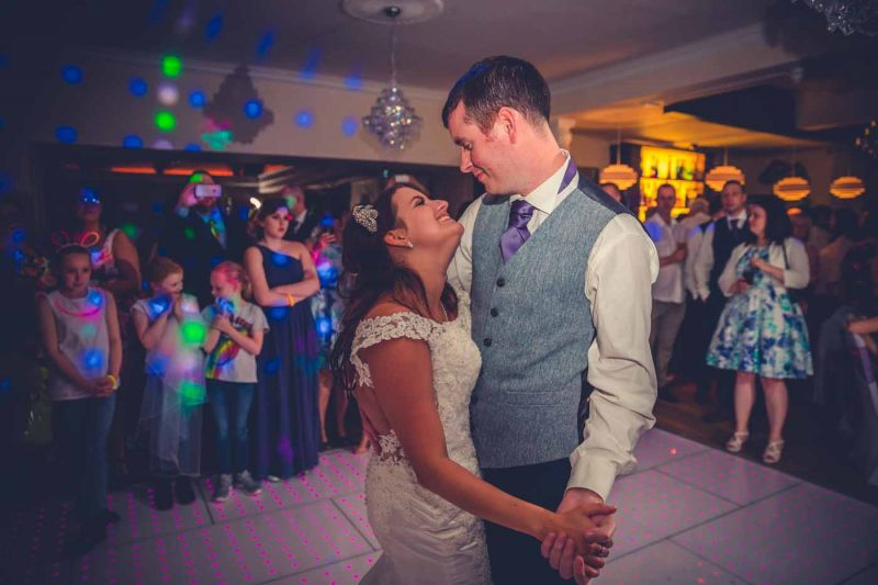 first dance ridgmont house wedding